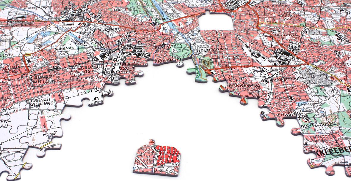 Kartengeschenke von Map Marketing